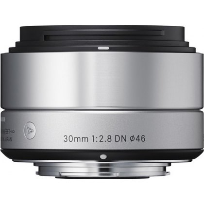 Sigma 30mm f2.8 EX DN NEW silver for Sony E
