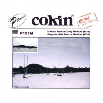 Cokin P Grey 2 Grad Medium, ND4, P121M
