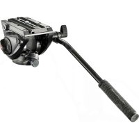 Manfrotto 500 Fluid Video Head With Flat Base for tripod