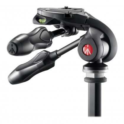 Manfrotto 293D3-Q2 Foldable 3-Way Head for tripod