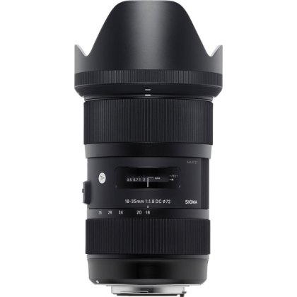 Sigma 18- 35mm f1.8 OS HSM lens for Sony  A-Mount