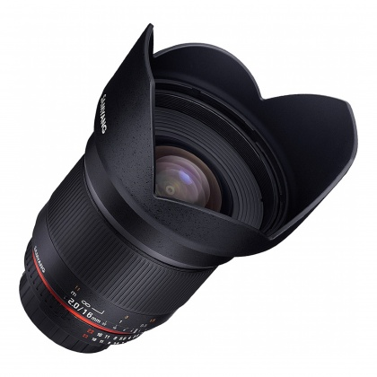 Samyang 16mm F2.0 for EOS M