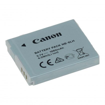 Canon NB-6LH Lithium ion Battery Pack 3.6v 1060mah
