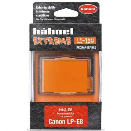Hahnel Extreme HLX-E8 7.2v 1100mah battery for Canon
