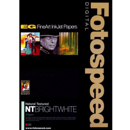 Fotospeed NT Bright White Paper, 315gsm, A3 x 20