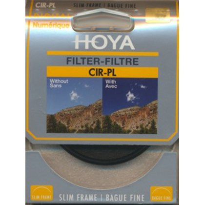 Hoya 43mm Slim Circular Polarising filter