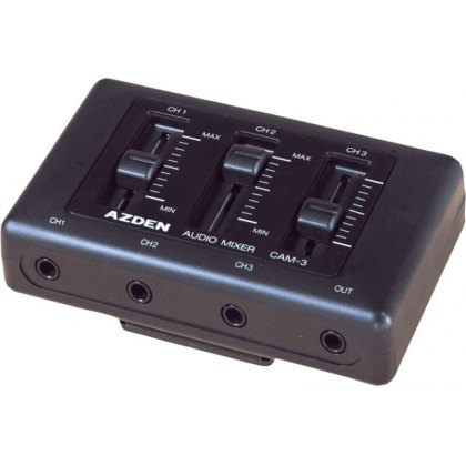 Azden CAM-3 Mini Microphone Mixer