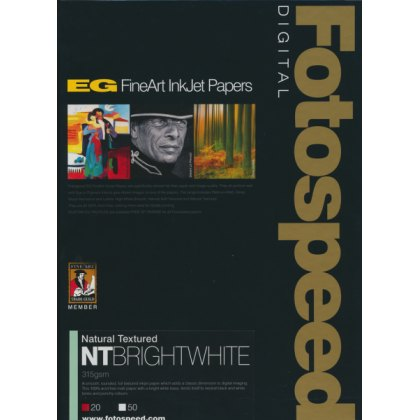 Fotospeed NT Bright White Paper, 315gsm, A3 x 50