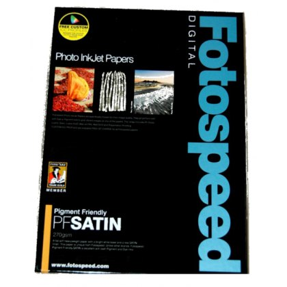 Fotospeed Pigment Friendly Satin, 270gsm, A3 Plus x 50