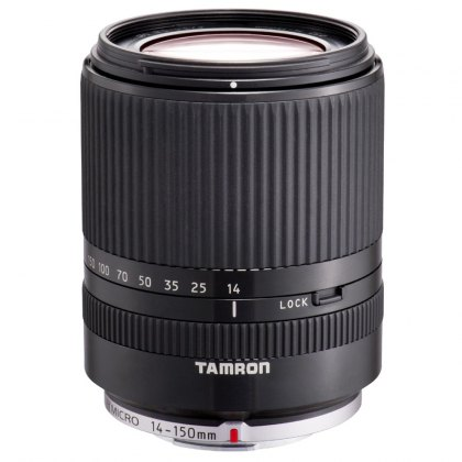 Tamron 14-150 Di3 black lens for Micro Four Thirds