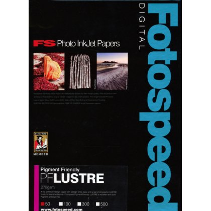 Fotospeed PF Lustre Paper, 275gsm, 6x4in - 100 sheets