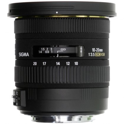 Sigma 10-20mm f3.5 EX DC HSM for Canon EOS