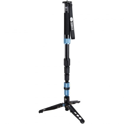 Sirui P-204SR Monopod with built in stand