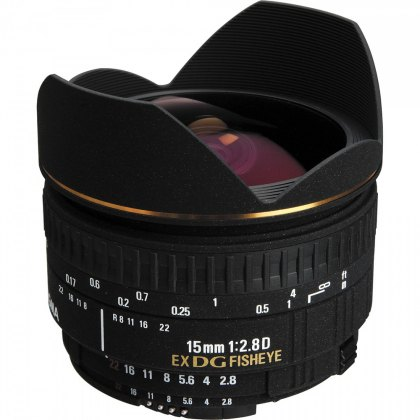 Sigma 15mm f2.8 Fish Eye DG EOS