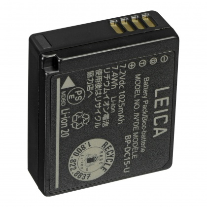 Leica Lithium-Ion Battery BP-DC15 for D-LUX (Typ 109)