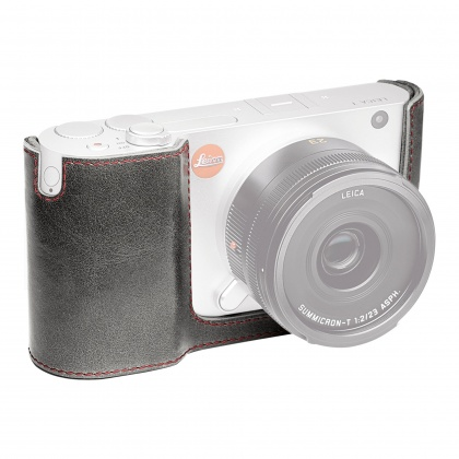 Leica Protector, leather, stone grey