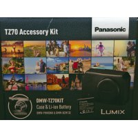 Panasonic DMW-TZ70 Case and battery kit for TZ70