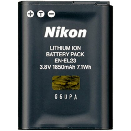 Nikon EN-EL23 Rechargeable Battery, 3.8v 1850mah