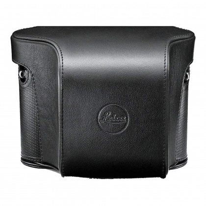 Leica Ever ready case for Leica Q, black leather