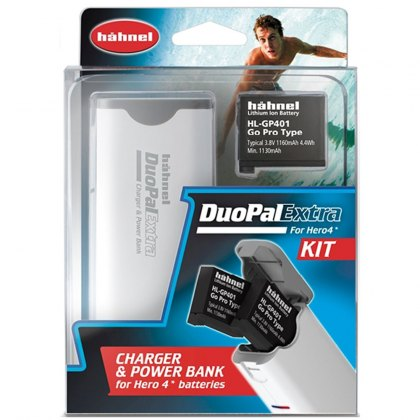 Hahnel DuoPal Extra kit with HL-GP401 battery