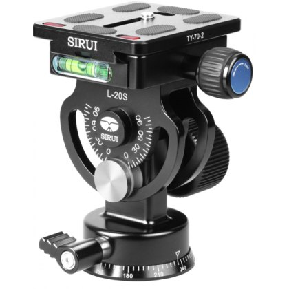Sirui L-20S panoramic tilt head with TY-60 Plate