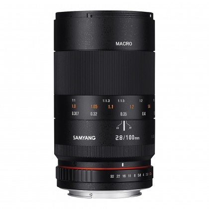 Samyang 100mm Macro f2.8 for Micro Four Thirds