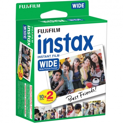 Fujifilm Instax Wide Film, 10x twin packs