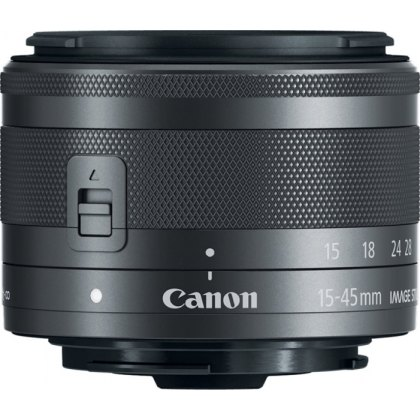 Canon EF-M 15-45mm f3.5-6.3 IS STM Graphite
