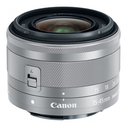 Canon EF-M 15-45mm f3.5-6.3 IS STM, Silver