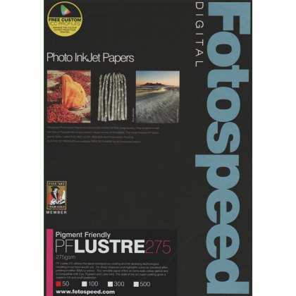 Fotospeed PF Lustre, 275gsm, A3+ - 50 sheets