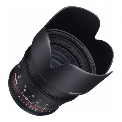 Samyang 50mm T1.5 VDSLR lens for Sony E