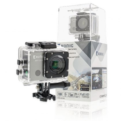 Konig Full HD action cam GPS and WiFi