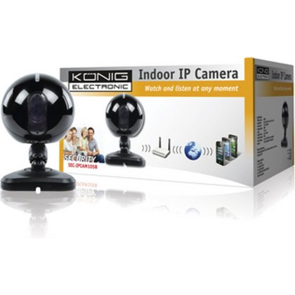 Konig Indoor IP camera black