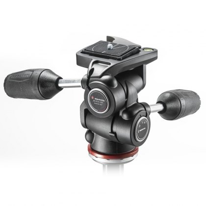 Manfrotto MH804-3W Adapto 3 way head, RC2