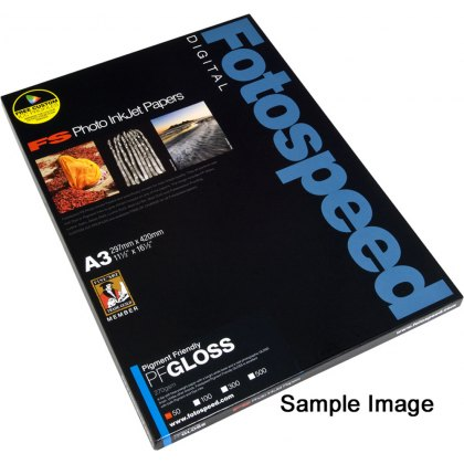 Fotospeed PF Gloss Paper, 270gsm, 6x4 - 100 sheets
