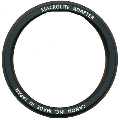 Canon Flash Macro Ring Lite Adapter 58C