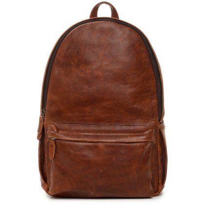 Ona Clifton Backpack - Antique Cognac Leather
