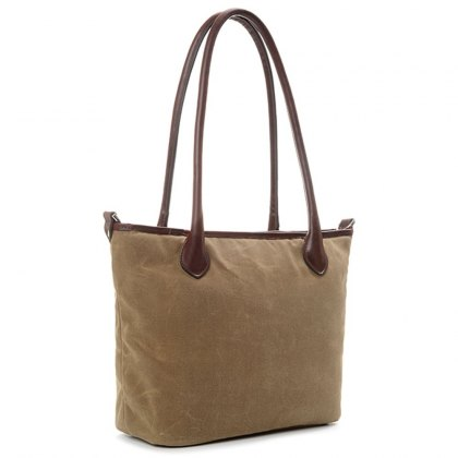 Ona Capri Tote Shoulder Bag - Field Tan