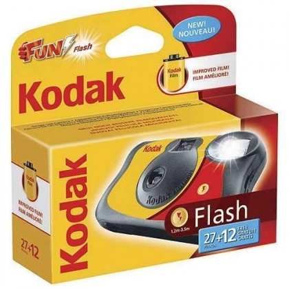Kodak Fun-Saver single-use camera, 800, 27+12 exposure