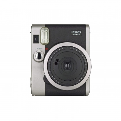 Fujifilm Instax Mini 90, Instant camera, black Plus 10 Shots