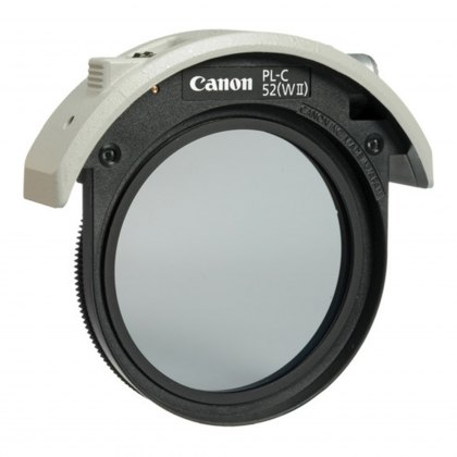 Canon 52mm Drop-in circular polarising filter II