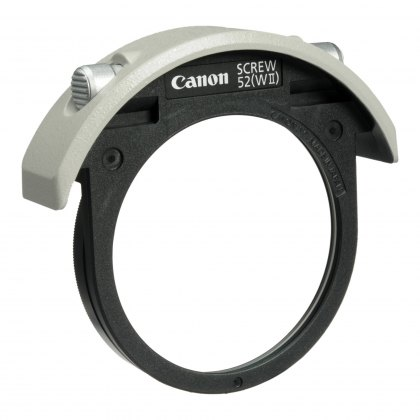 Canon 52mm Drop-in screw filter holder II
