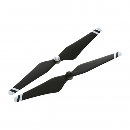 DJI Phantom 3 Propellers Carbon Fibre with White Strips