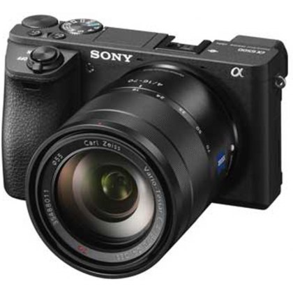 Sony Alpha 6500, black, 16-70 Zeiss T*