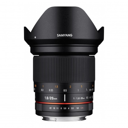 Samyang 20mm F1.8 for Sony A-Mount