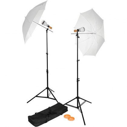 Westcott LED 2-Light Umbrella Kit - 360