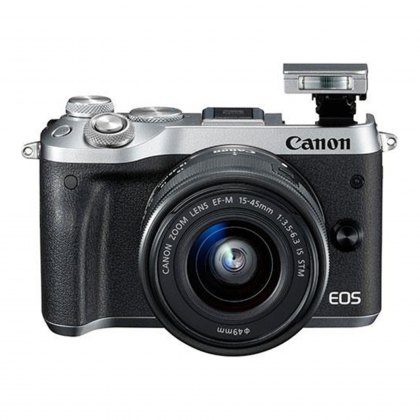 Canon EOS M6 Silver M15-45 Kit