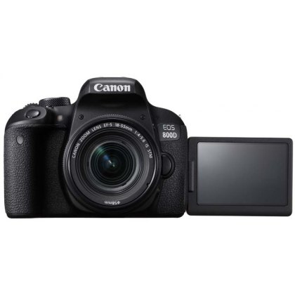 Canon EOS 800D, 18-55mm F4-5.6 IS STM