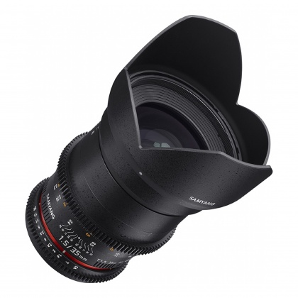 Samyang 35mm T1.5 VDSLR II for Sony FE