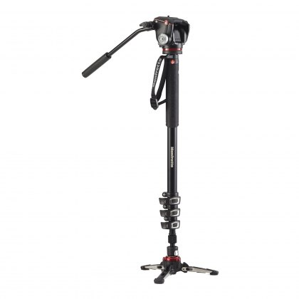 Manfrotto XPRO Video Monopod with 2W Head